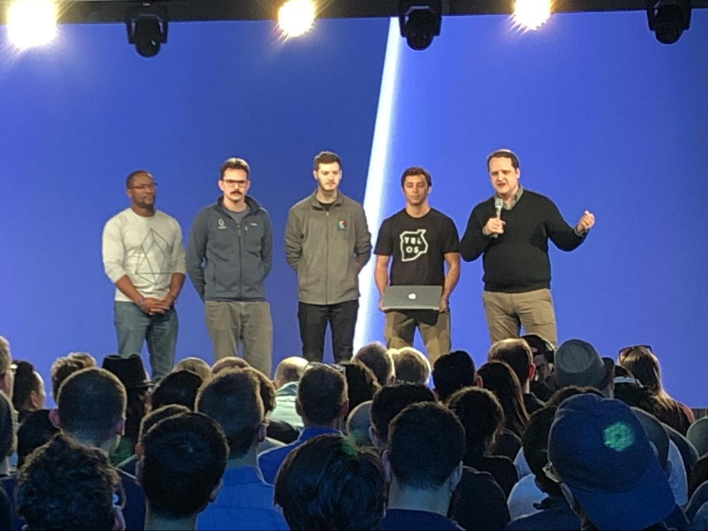 Members of the Top-10 San Francisco EOSIO Hackathon Team