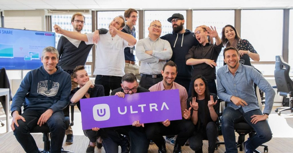 Members of the Ultra Team