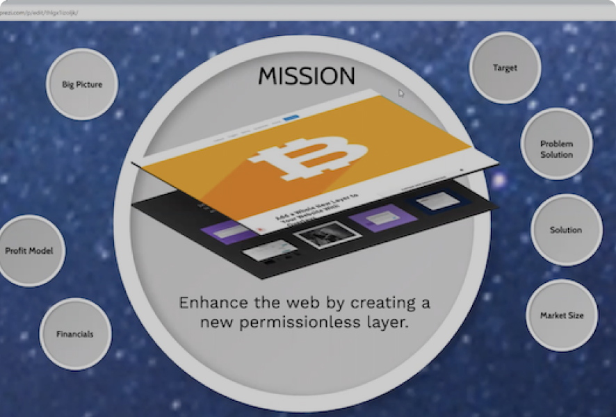 Enhance the web by creating a new permissionless layer